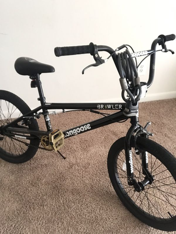 Brand new mongoose bmx bike only used 3x