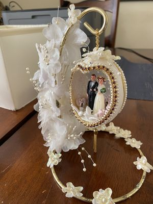 Faberge Egg Wedding Romantic Gift Decoration for Sale in Centreville, VA