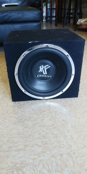 """12"""" SUBWOOFER HIFONICS 600W 300RMS.....$40 FIRMES for Sale in Los Angeles, CA"""