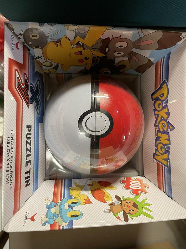Pokemon Pokeball Poke Ball Sphere Puzzle Tin