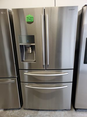 Refrigerator Samsung Stainless steel for Sale in Lawrenceville, GA