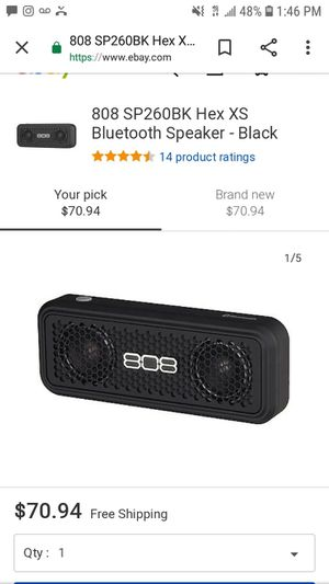 808 bluetooth speaker for Sale in San Bernardino, CA