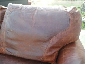 Beautiful REAL leather sofa for Sale in Upland, CA