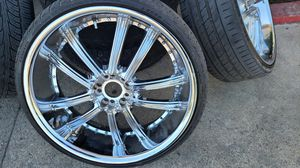 22 Chrome rim for Sale in Moreno Valley, CA