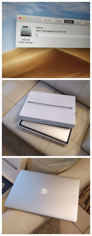 Brand New Macbook Pro 15 Retina i7 - 16 GB Memory and 512 GB Solid State Drive. for Sale in Grape Creek, TX