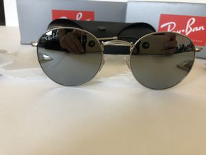 Ray ban round metal silver for Sale in Santa Ana, CA