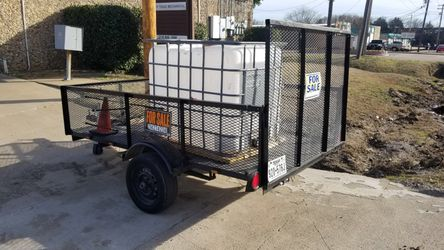 Trailer for sale with ramp and title WILL DELIVER!!! No low balls for Sale in Lewisville,  TX