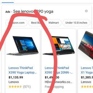 Lenovo X390 Yoga Laptop for Sale in Carson, CA