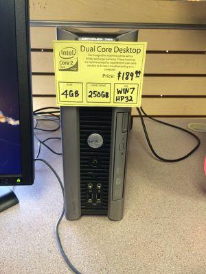 Dell Optiplex 755 desktop computer Dual Core 4GB RAM 250GB HDD Windows 7 for Sale in Denver, CO