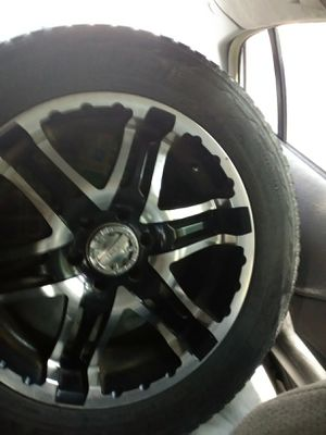Gear 20'x10 rims and tires for Sale in Anniston, AL
