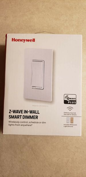 Honeywell Z-Wave Plus In-Wall Dimmer Switch New for Sale in Las Vegas, NV
