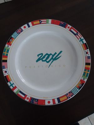2004 USA National Flags plate for Sale in Auburndale, FL
