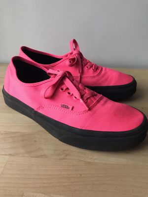 Hot Pink Vans Authentic Black Outsole for Sale in Columbia, MO
