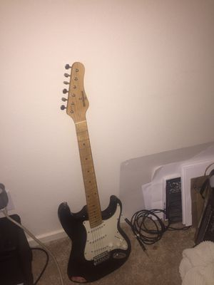 Guitar and amp for Sale in Vancouver, WA