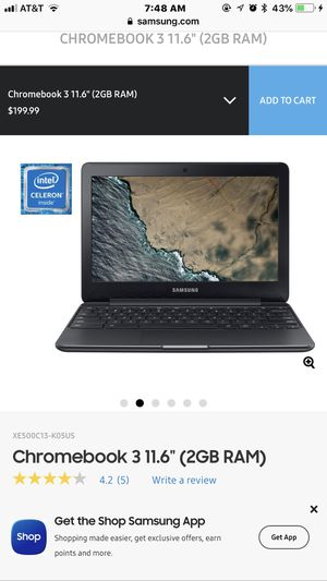 Brand New NEVER USE Laptop Chromebook 3 for Sale in Washington, DC