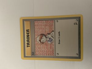 Pokemon trainer card bill for Sale in Walnut Creek, CA
