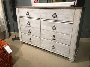 Ashley Furniture Whitewash Five Drawer Chest for Sale in Santa Ana, CA