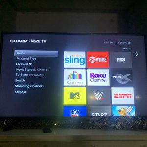 55 Inch Roku Sharp Smart Tv for Sale in Houston, TX
