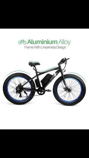 "26"" 500W 36V 12Ah Lithium battery Electric fat Bike Beach e bicycle moped for Sale in Alamo, CA"