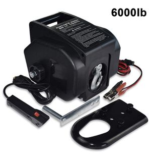 Brand New Trailer Winch,Reversible Electric Winch, for Boats up to 6000 lbs 12V DC,Power-in, Power-Out, and Freewheel Operations, with Corded Remote for Sale in Hayward, CA