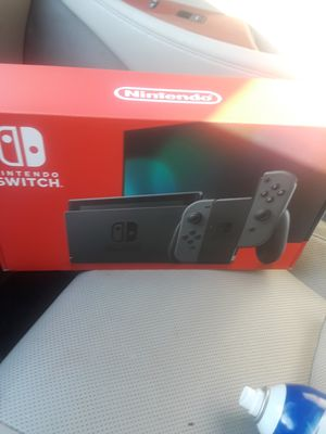 Nintendo switch game system rare Gray Joy-con 32GB with reciept NES for Sale in Orange, CA