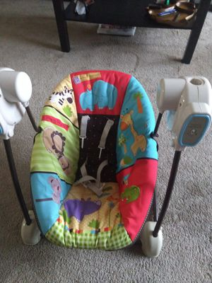 Fisher price baby swing and seat for Sale in Wheeling, IL