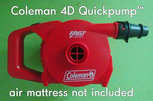 Coleman 4D Quickpump™ for air mattresses for Sale in Portland, OR