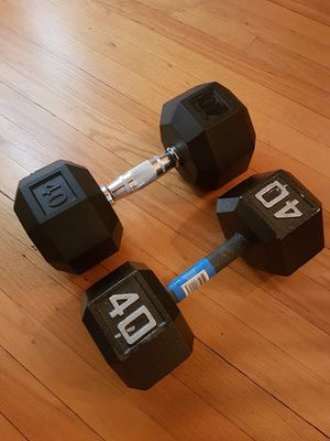 New 40lb Dumbell Set for Sale in Riverside, IL
