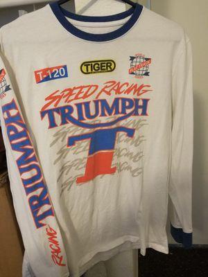 Triumph motorcycle shirt for Sale in Phoenix, AZ