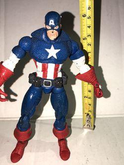 Marvel Legends Toybiz Captain America for Sale in Chandler,  AZ