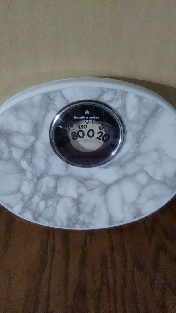 Bathroom scale Health o meter use in any room