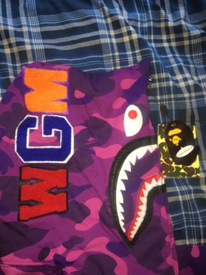BAPE hoodie ALL SIZES ALL COLORS for Sale in Columbia, SC