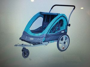 New Two seat Jogger/bicycle trailer for Sale in Midlothian, VA