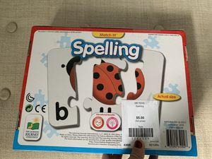 Spelling puzzle game for Sale in Arlington, VA