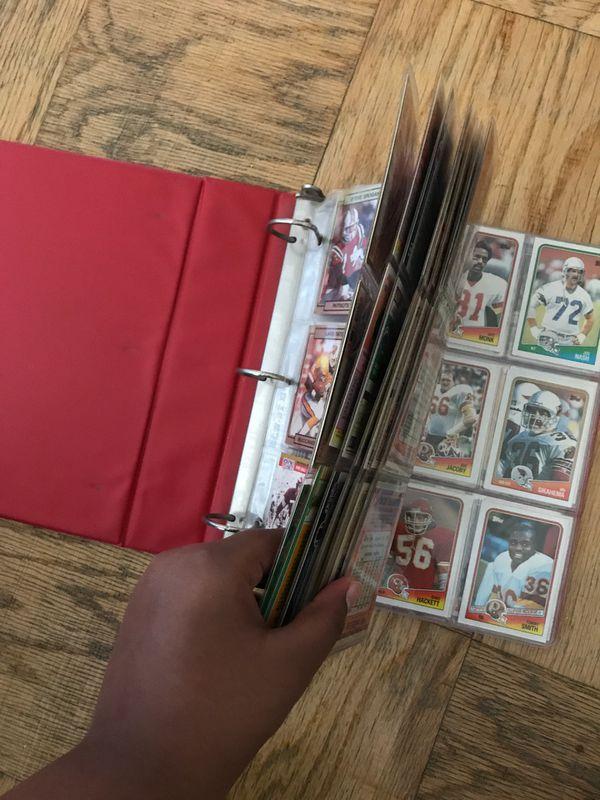 1980s'-1990s' Rare Football Card Album [OVER 100 CARDS]