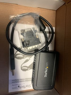 StarTech external multi monitor video adapter for Sale in Miami, FL