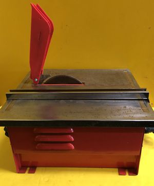 7 In Portable Wet Cut Tile Saw - Chicago Electric Power Tools 40315 - GOOD CONDITION for Sale in Azalea Park, FL