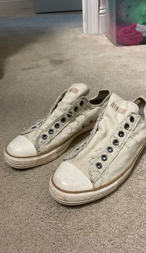 Converse - John Varvatos laceless size 10 for Sale in St. Petersburg, FL