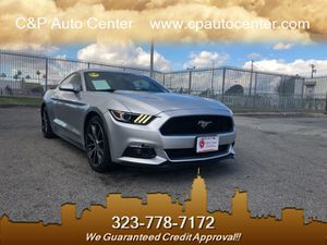 2016 Ford Mustang EcoBoost for Sale in Los Angeles, CA