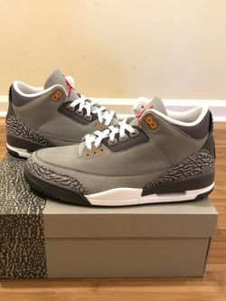 Brand New Air Jordan 3 Retro Cool Grey 2021. Ready to meet up! for Sale in Lawrenceville,  GA