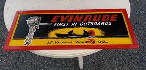 Evinrude sign for Sale in Camden, DE