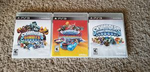 Skylanders PS3 games and figures for Sale in White House, TN