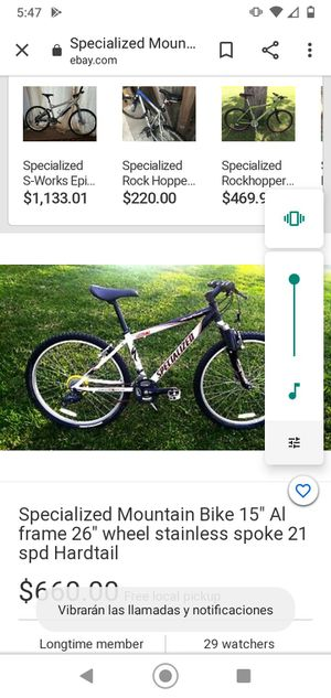 Bicicleta specialized mui buenas for Sale in Lancaster, CA
