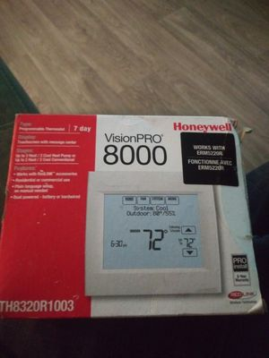 Visionpro 8000 honeywell programable thermostat for Sale in Portland, OR