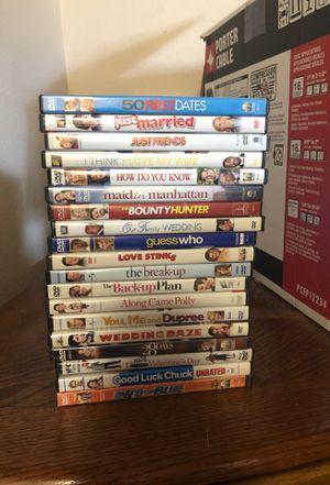 Romantic Comedy DVD Collection. for Sale in Mukilteo, WA