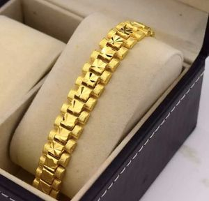 New Yellow Gold Filled 18K 13MM Link Bracelet for Sale in Las Vegas, NV