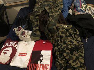 Bape Supreme Jordans for Sale in Warren, MI