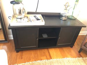 Restoration Hardware Black Storage Console for Sale in Charleston, SC