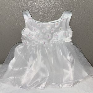 Build A Bear White Formal Wedding Satin And Tulle Dress for Sale in Kirkland, WA