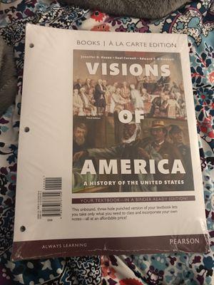 Visions of America textbook for Sale in Manassas, VA